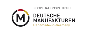 Logo Deutsche Manufakturen Handmade in Germany